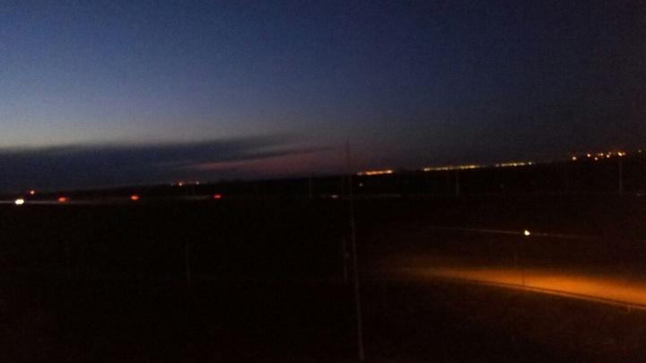 Горожане жалуются на отсутствие освещения на трассе Уфа–Дема