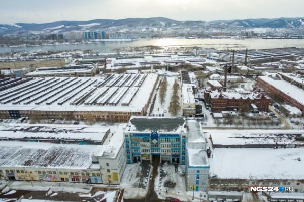 На территории завода решено построить сотни домов
