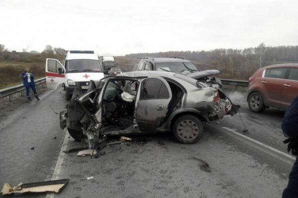 Авария случилась около 9:00 в Искитимском районе