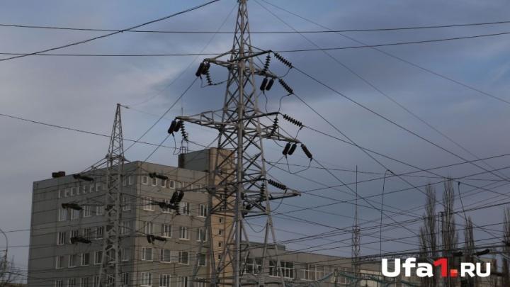 В Уфе выключат свет почти в 200 домах