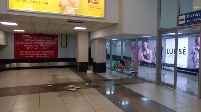 Инцидент произошёл во внутреннем терминале аэропорта