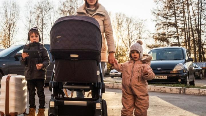 Сибирячка с тремя детьми сбежала из дома в микрорайон «Стрижи»