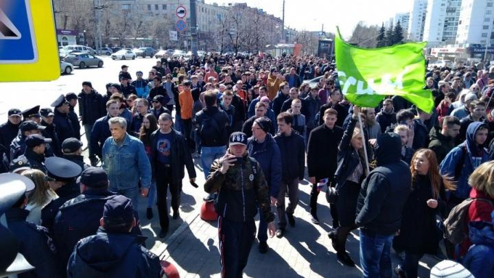 «Это было зверство»: полиция отказалась назвать число задержанных на митинге в Челябинске