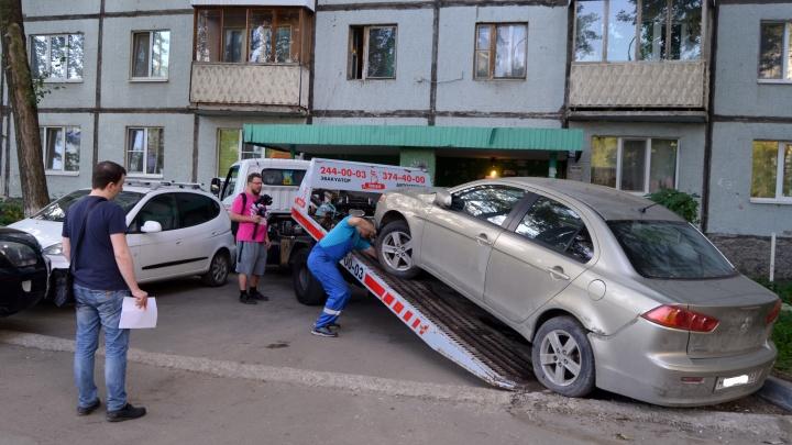 Самарец «не потянул» оплату коммуналки и остался без дорогой иномарки