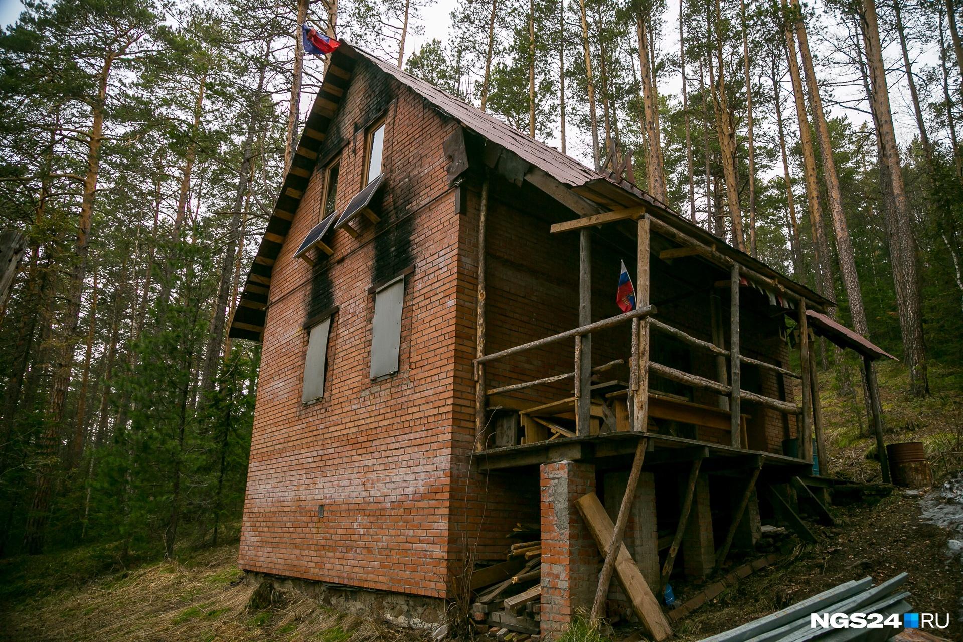 Нелидовский домик на «Столбах»