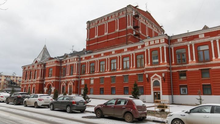 Добавят стекла: появились эскизы реконструкции Самарского драмтеатра