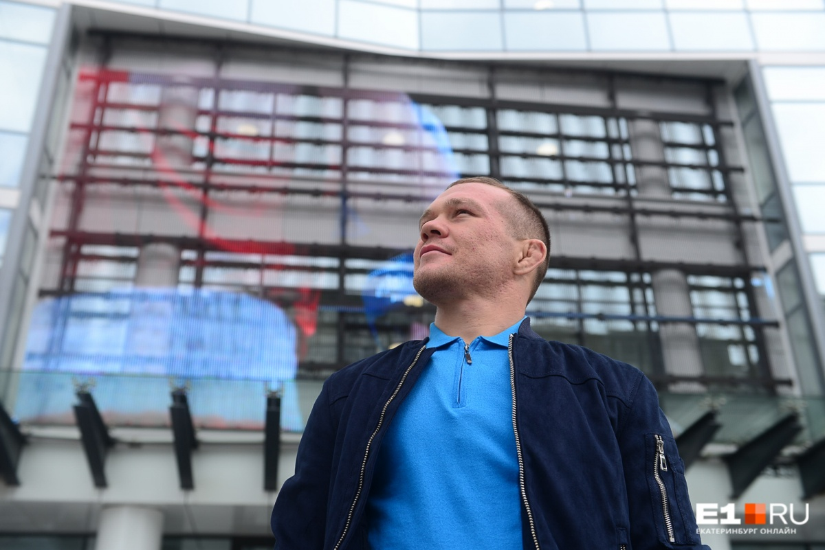 Боец вспоминает Омск, но Екатеринбург ему тоже нравится