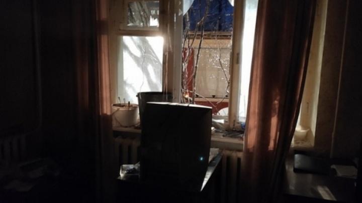 В Архангельске хлопок газа выбил окно в девятиэтажном доме