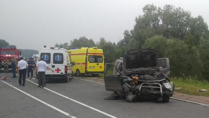 В полиции рассказали подробности аварии у Морозовки, в которой погибли два человека