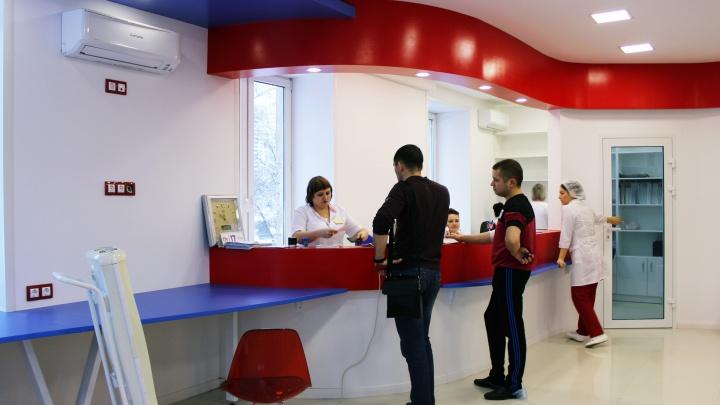 С соблюдением корпоративных цветов: в Самаре отремонтировали «Службу крови»