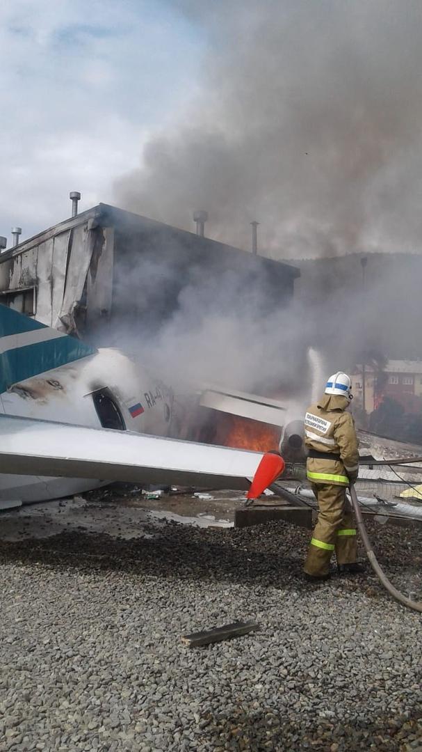 Экипажу не удалось удержать самолет из-за отказа двигателя
