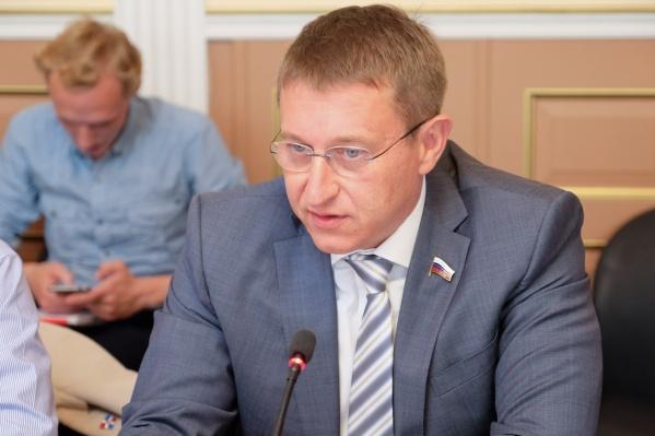 Дмитрий Скриванов стал депутатом Государственной думы в 2016 году