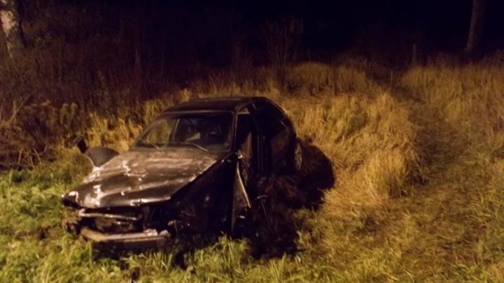 В ночной аварии на трассе М-8 погиб 28-летний водитель «Ауди»