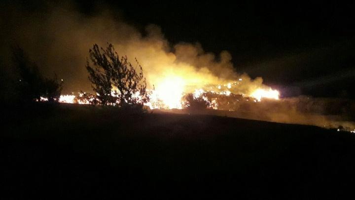 «Что горит в Сибае»: посреди ночи жителей Башкирии взбудоражило пламя