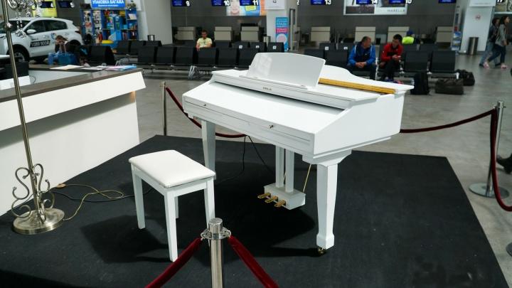 Заместители министра культуры Прикамья сыграют на белом рояле в аэропорту «Большое Савино»