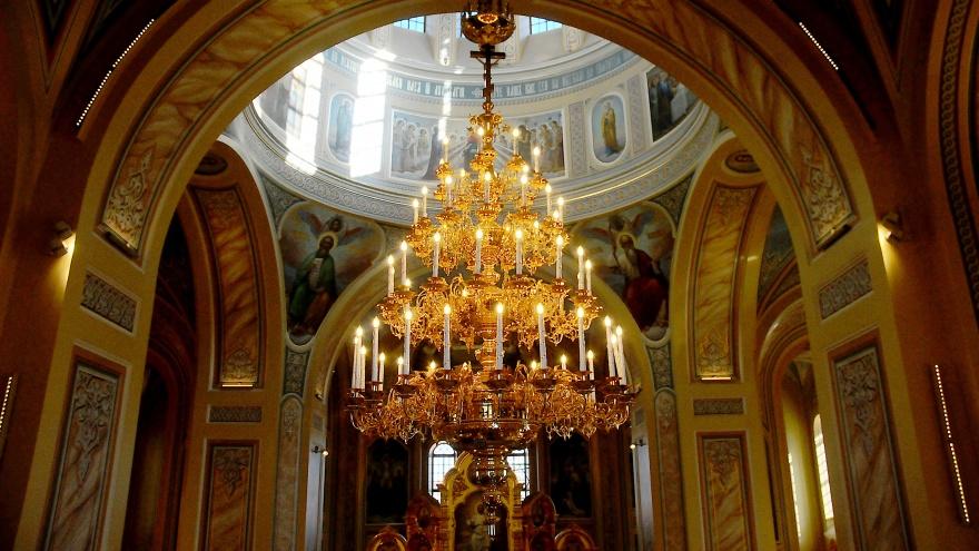 Кафедральный собор Ростова-на-Дону впервые открыли для посетителей. Вот как он выглядит внутри