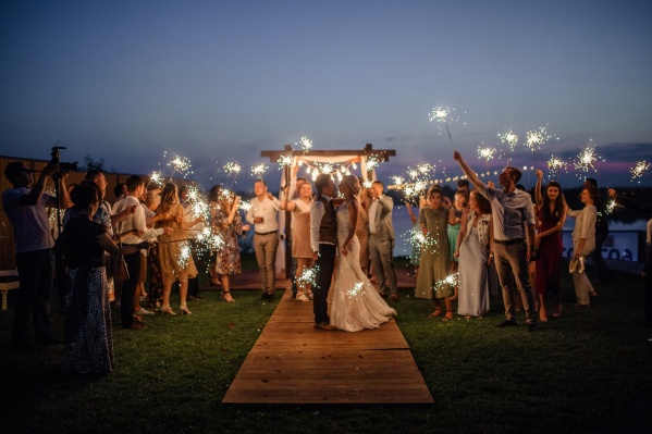 Свадьбу тюменцы сыграли в конце июля