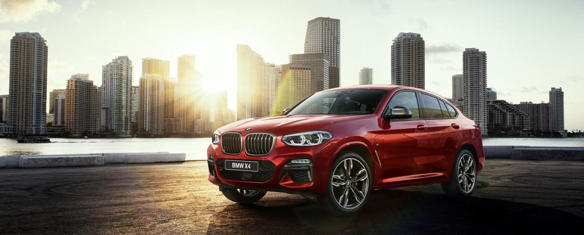 Компания «ЭлитАвто Сибирь» представляет новый BMW X4