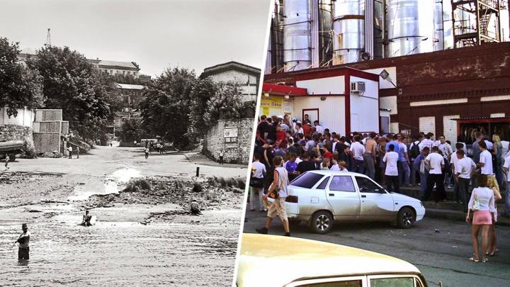 Под землей — пивопровод! Смотрим, как годы изменили самарское «Дно»