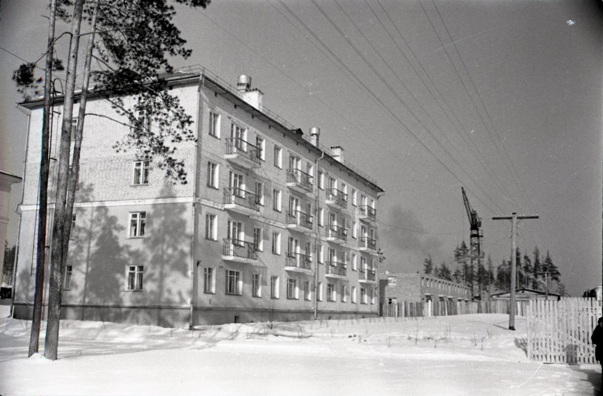 Новостройки на улице Маневровой, начало шестидесятых