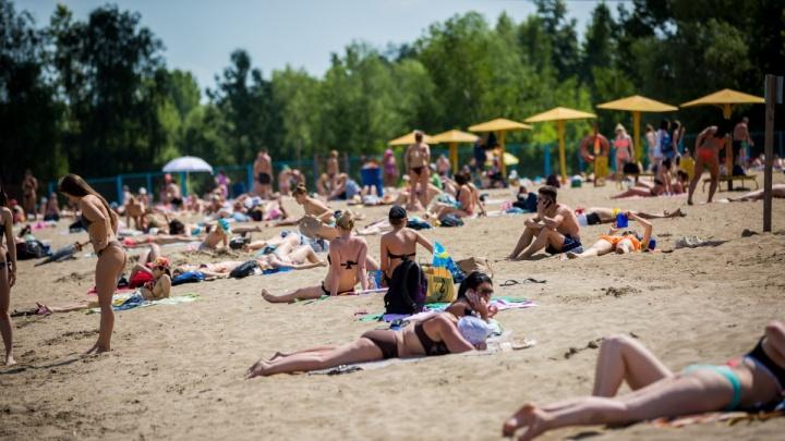 На трёх новосибирских пляжах разрешили купаться
