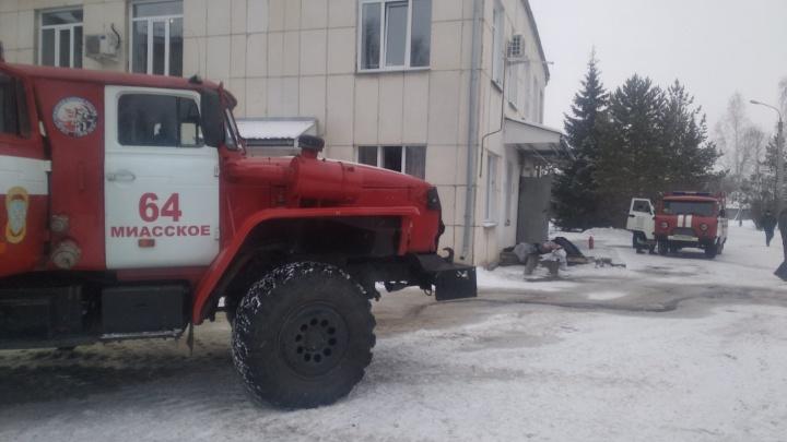 Из больницы под Челябинском эвакуировали 150 человек из-за пожара