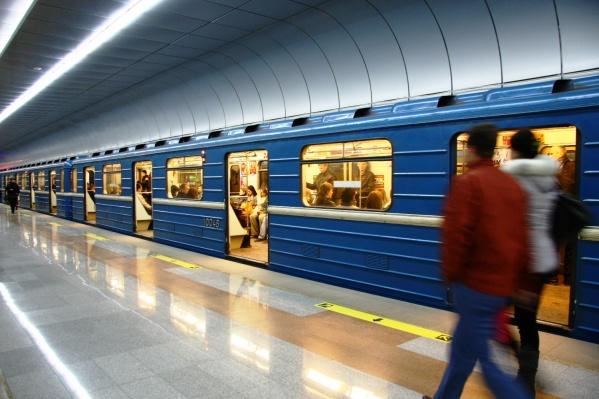 «Золотая Нива» — самая новая станция новосибирского метрополитена, её открыли в 2011 году