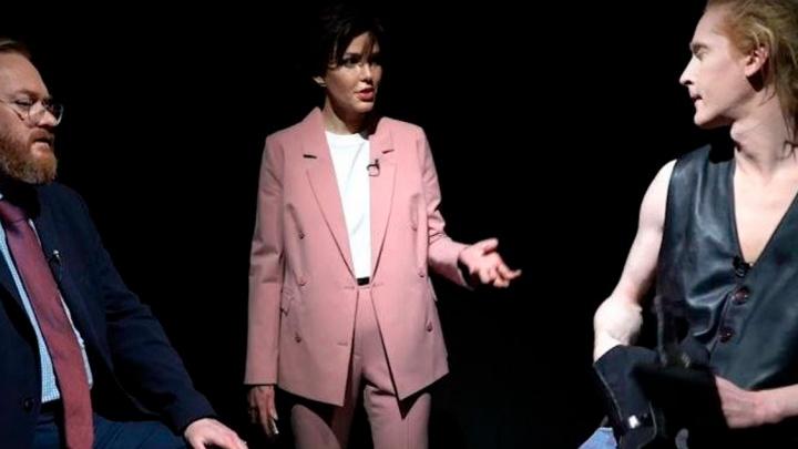 Виталий Милонов сбежал с шоу мисс Екатеринбург — 2006 из-за бисексуала в студии