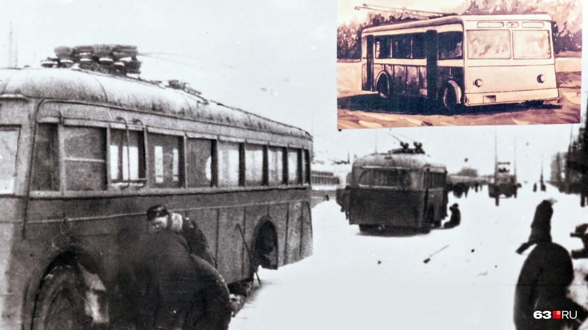 Первые троллейбусы несколько месяцев стояли мертвым грузом на площади возле вокзала