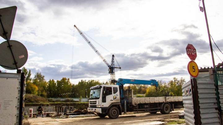 Мэрия: если «Кедр» не закончит стройку за год — его смогут выгнать из парка 30-летия ВЛКСМ