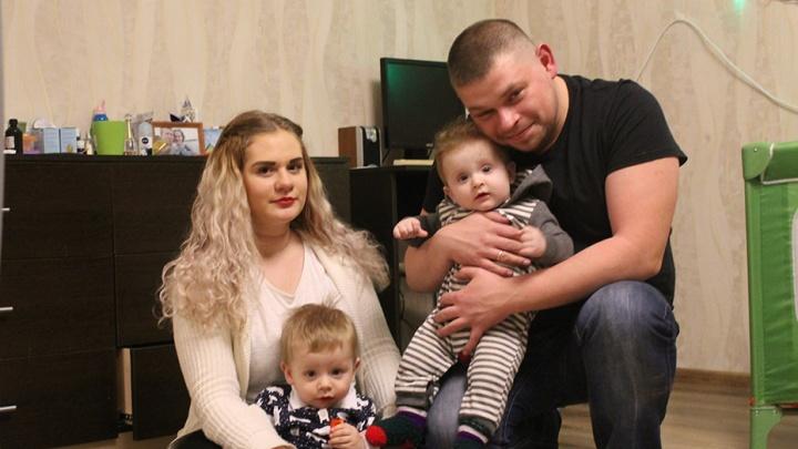 Два сына за 9 месяцев: семья из Новосибирска поставила рекорд по разнице в возрасте между детьми