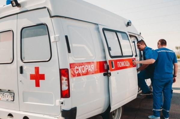 Пострадавшего ребёнка с ожогами и в тяжелом состоянии экстренно увезли в ОКБ №1