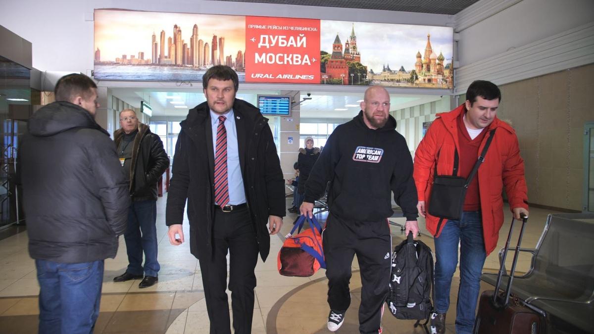 Спортсмен уже дважды бывал в Челябинской области и даже медицинский полис получил на Южном Урале
