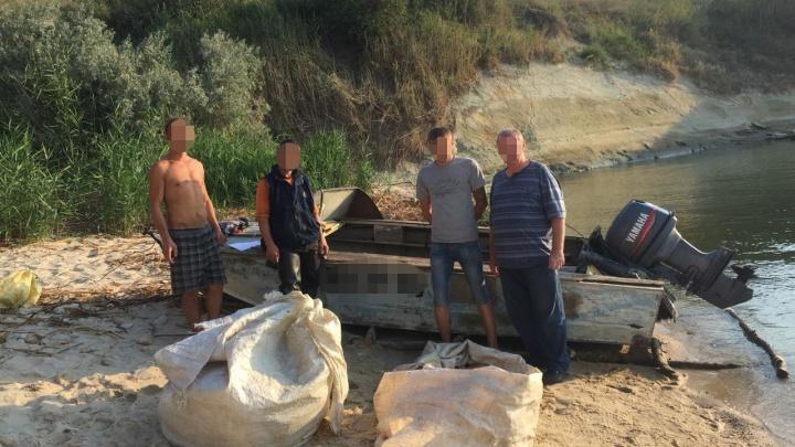 Улов на 40 тысяч: полицейские задержали браконьеров, промышлявших в Цимлянском водохранилище