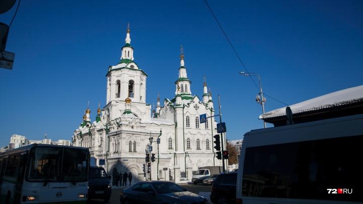 В Тюмени выделят больше 200 миллионов рублей на реставрацию Спасской церкви