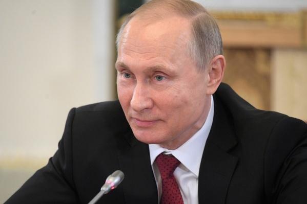 Владимир Путин дал новосибирцам три медали и два почётных звания