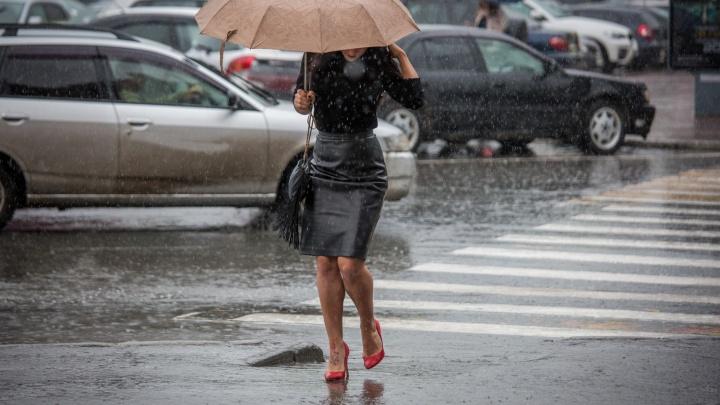 Арктический воздух несёт в Новосибирск дожди и похолодание до -2
