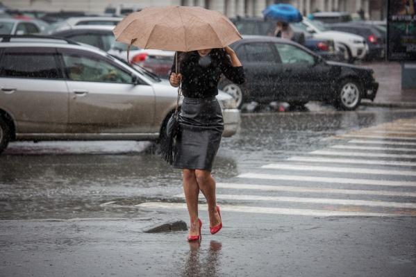 В ближайшие трое суток синоптики прогнозируют небольшие дожди