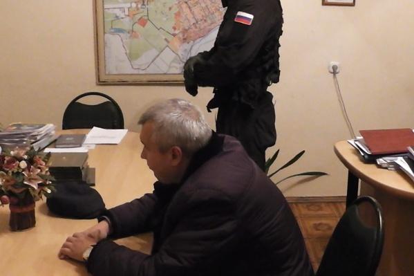 Сергея Басакевича задержали прямо в кабинете