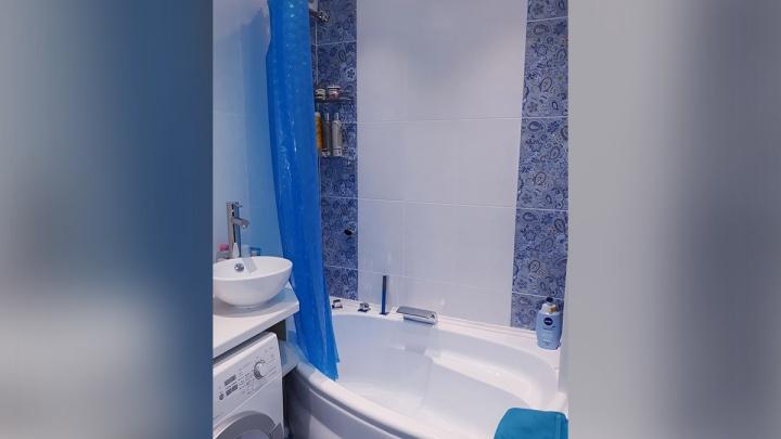 Когда не хочется «как у всех»: идея для крошечной ванной