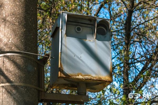 Нарушение зафиксировали камеры на Ново-Садовой