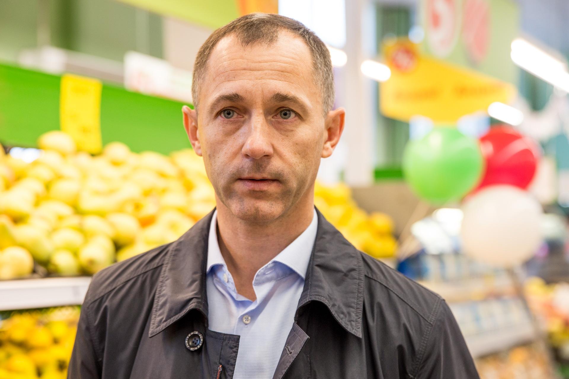 Дмитрий Босой, операционный директор Северо-Восточного дивизиона торговой сети «Пятёрочка»