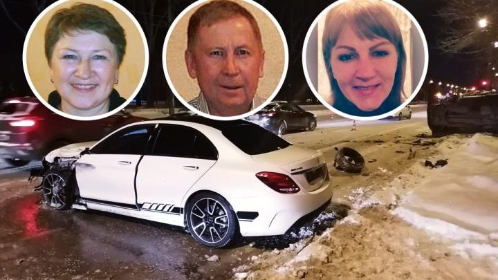 «Он всю жизнь нам испортил»: пострадавшие от лобового удара элитного Mercedes ищут очевидцев ДТП