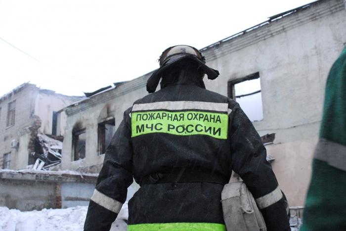В огне погибли двое детей