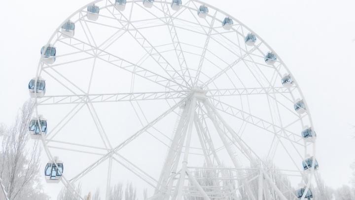 На колесе обозрения в парке Гагарина трудяг начали катать со скидкой