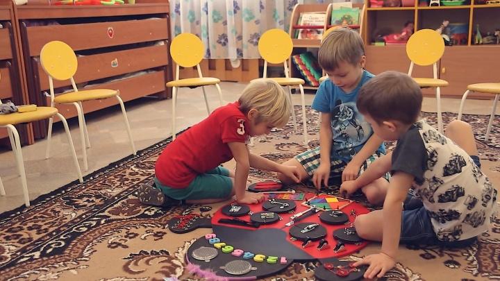 В детском саду на Красрабе детей учат чинить розетки на безопасных муляжах
