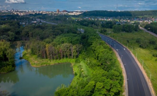 На въезде в Уфу на неделю ограничат движение автомобилей из-за ремонта дороги