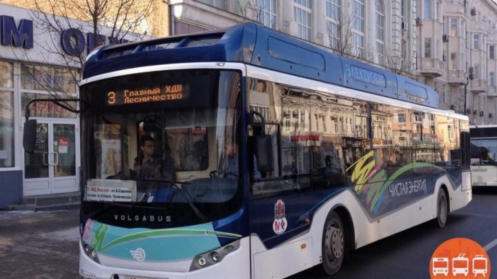 Ростовчанин предложил пустить по Станиславского электробусы