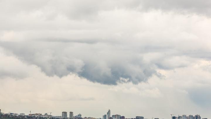 Шквалистый ветер снова идет в Красноярск. Возможны серьезные пожары