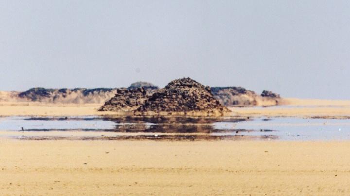 Поймали глюк: новосибирский путешественник снял мираж в египетской пустыне